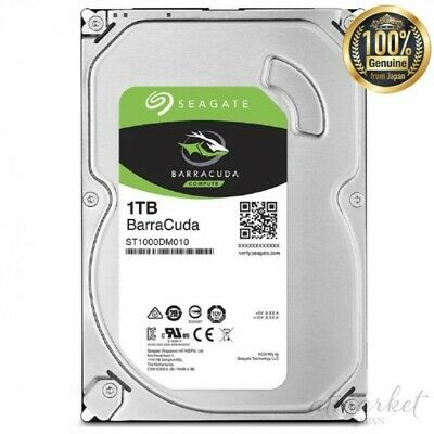 Seagate PC Internal hard disk 1TB BarraCuda 3.5 built-in HDD 6Gb/s 64MB 7200rpm
