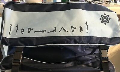 1920185feb5705 EUC LULULEMON LARGE Method Gym Hobo Bucket bag Black RARE Vegan ...