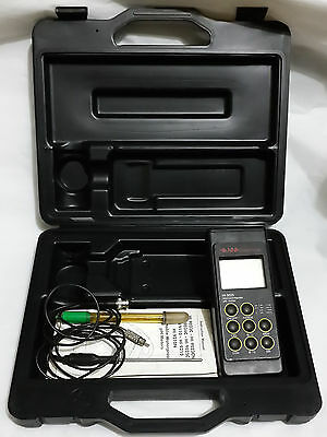 Hanna Instruments  HI 9025C PH METER KIT HI9025 *For parts or Not Working*