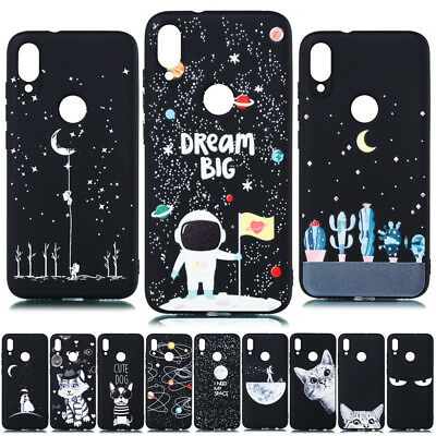 For Xiaomi Redmi Note 7 6 5 Pro 5A 4X Painted Slim Soft Silicone TPU Case Cover