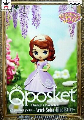 Q posket petit Disney Characters Sofia / Sofia the First / 100% Authentic!
