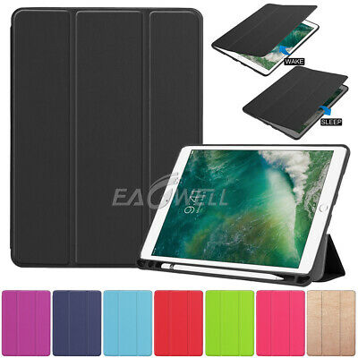 For iPad Air 2019 Air 3 Pro 10.5 inch Slim Leather Cover Case With Pen Holder