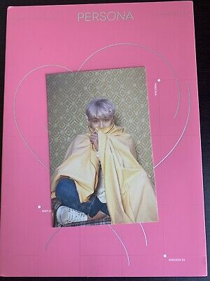 BTS Map Of The Soul: Persona Official RM Postcard