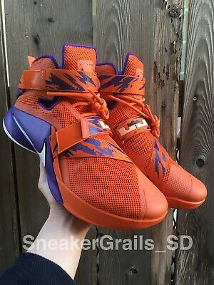 cd7cbc1851220 Nike Lebron Soldier 9 IX Promo Sample Player Exclusive PE Phoenix Suns Size  12.5
