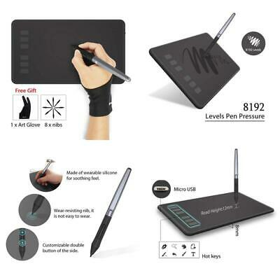 Huion Inspiroy H640P Graphic Drawing Tablet Battery-free Stylus Pen