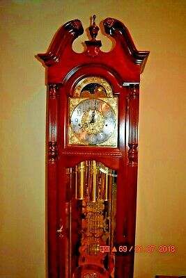 Howard Miller Grandfather Clock model 610-793 working and serviced