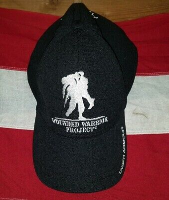 new concept 43c02 238ba Under Armour WWP Wounded Warrior Project Alumni Black Snapback Baseball Hat  OSFA