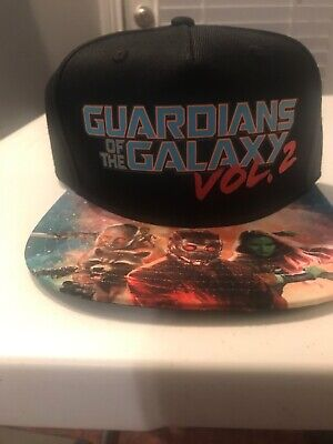 f73bde68f MARVEL GUARDIANS OF the Galaxy Vol 2 Black White Shield 9Fifty ...