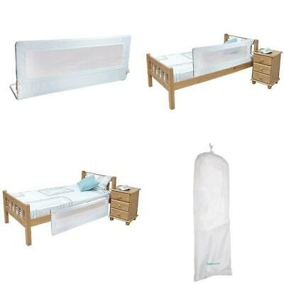 Safetots Extra Tall Bed Rail White For Added Safety W 140Cm X H 50Cm For Childrn