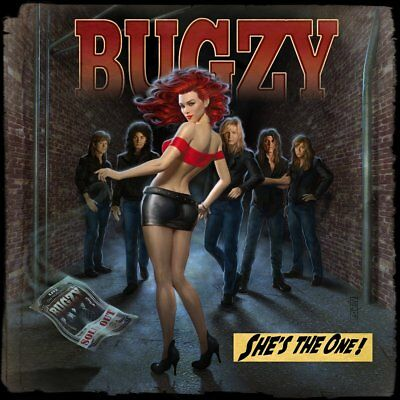 BUGZY - She's The One (NEW*US HARD ROCK*LIM.500*NIGHT RANGER*BAD ENGLISH*QUOIRBO
