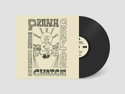 Prana Crafter - Bodhi Cheetah's Choice // Vinyl LP ltd to 225 on Copper/Bone Swi