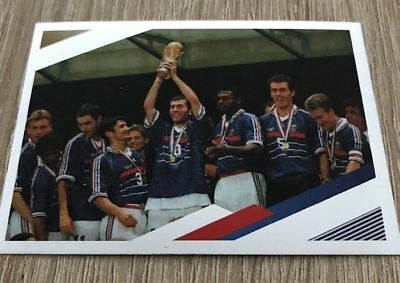 Carte N°81 Collection Panini Fff France 2018 Carrefour Sticker Autocollant