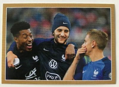 Carte N°40 Collection Panini Fff France 2018 Carrefour Sticker Autocollant