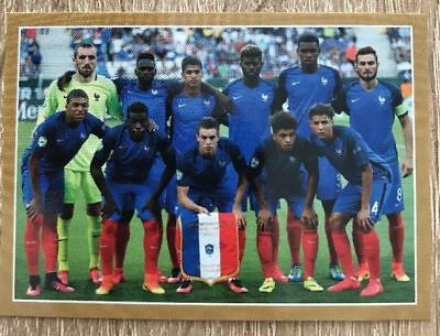 Carte N°90 Collection Panini Fff France 2018 Carrefour Sticker Autocollant