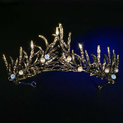 Frcolor 1 PC Crystal Exquisite Rhinestone Party Hair Accessories for Women Girls