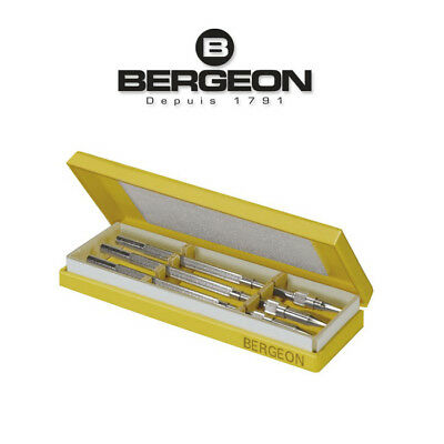 Bergeon 2566 Assortment of 3 holders screw contents watchmaer tools set