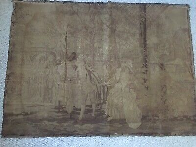 Old Gold/Bronze Coloured Tapestry