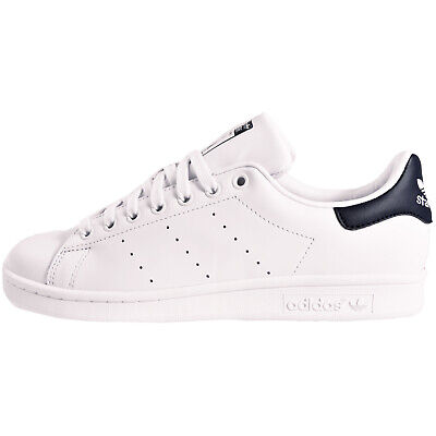 ADIDAS MENS STAN SMITH 10 12 CLASSICRETRO WORN LEATHER~ ICONIC STYLE