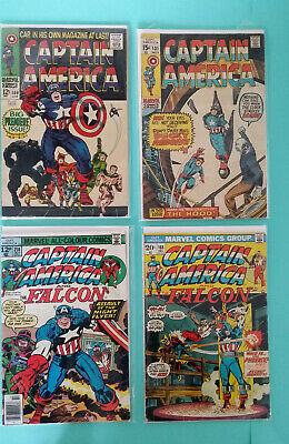 Marvel Comics - Captain America #100 1st Solo Appearence & 131/168/214 - GC