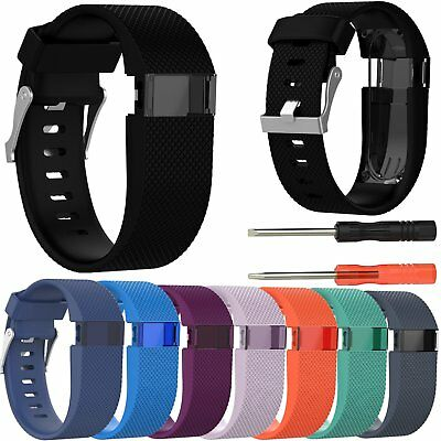 Silicone Bracelet Wrist Band Strap for Fitbit Charge HR Activity Tracker