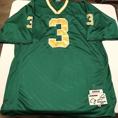 lowest price 09efd 4a30b JOE MONTANA ADIDAS True School Notre Dame Jersey Mens Large Vintage