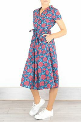 NEW SEASALT Top Terrace Floral Dress w/Pockets Was £69.95 Now £34.95 HALF PRICE