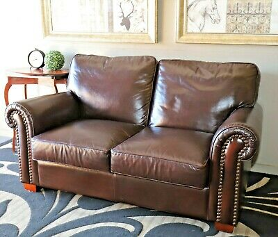 Stunning Moran Aust Made 2+ Seat Leather Chesterfield Sofa Lounge Couch Suite