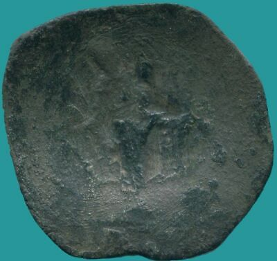 LATIN RULERS of CONSTANTINOPLE Æ Trachy 1204-1261 2.64 g/27.04 mm ANC13643.16