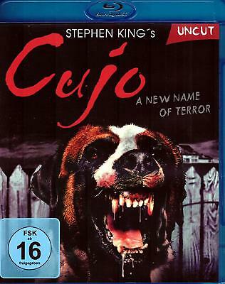 CUJO - Blu Ray Disc - Stephen King's -