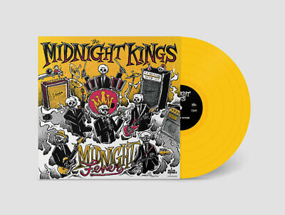 The Midnight Kings - Midnight Fever // Vinyl LP limited to 40 on Coloured LP