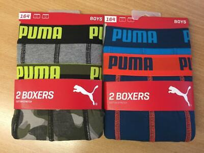 MIX Puma Jungen Boxershort Kids Limited Edition 4er Pack -  164