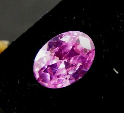 GGL Certified 10.15 Ct Oval Cut Transparent Natural Pink Sapphire Gemstone