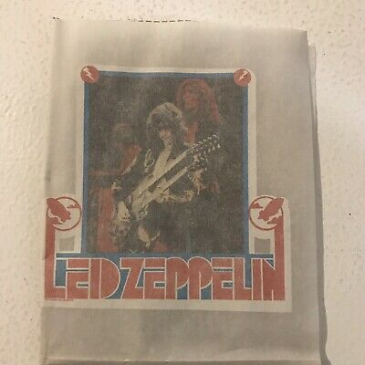 vintage led zeppelin Iron On Patch
