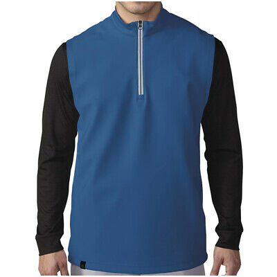 New Adidas Climacool Competition Golf Vest Eqt Blue Small