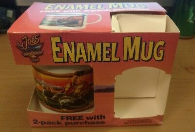 Camel Cigarettes Enamel Mug Joes Fish and Game club