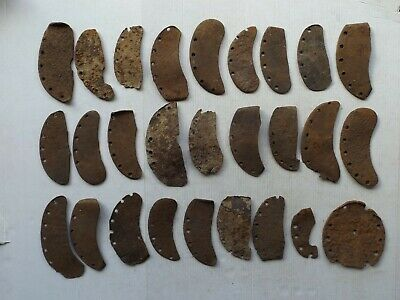 RARE Lot of 27 Ancient Roman Period / Early Medieval Horse Shoe