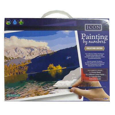 Icon Painting By Numbers Collectors Complete Pack - Landscape, Size 360 x 280mm