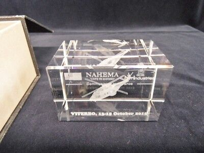 COLLECTOR SOUVENIR CONFERENCE VITERBO HELICOPTERE NHIndustries NH90 AVIATION