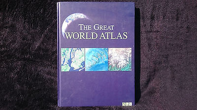 NGV Great World Atlas Illustrated Legend Travel Map Index Countries - Continents