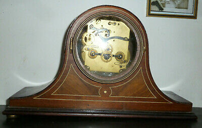 Mantle Clock Vintage Antique 1920's Spares Parts German Old Mantel Not Working