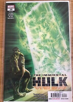 Immortal Hulk #10 First PrintAlex Ross Cover Bagged And Boarded