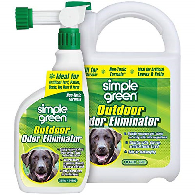 SIMPLE GREEN Outdoor Odor Eliminator for Pets, Dogs, Ideal for Artificial Lawns