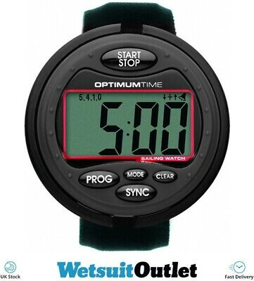 Optimum Time Series 3 OS3 Sailing Watch Exclusive Black Edition Unisex Timer