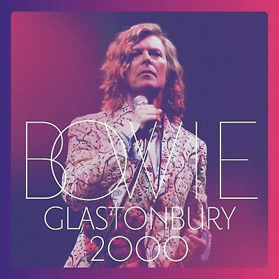 DAVID BOWIE CD Glastonbury 2000 Live 21 Track Double Album DIGI-PACK SEALED