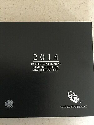 2014 United States Mint Limited Edition Silver Proof Set (LS3) MINT SOLD OUT