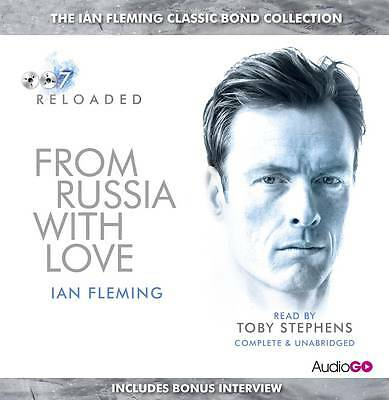 From Russia With Love - Ian Fleming - 8 Cd Audio Book - New/Sealed - James Bond