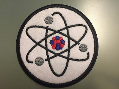 """ATOM PHYSICS SCIENCE Patch - Embroidered Iron On Patch 3 """""""