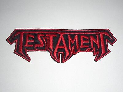 ANTHRAX Iron On Sew On Embroidered Patch Thrash Metal A209