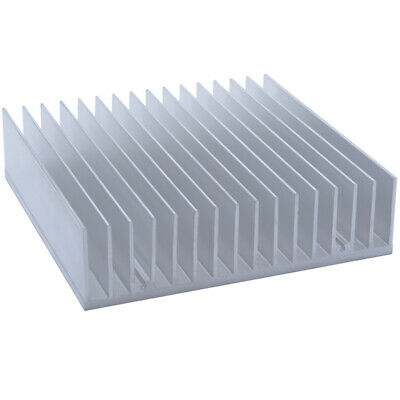 170*170*45mm Anodized Aluminium Heat Sink For CPU Power Transistor TO-126 TO-220