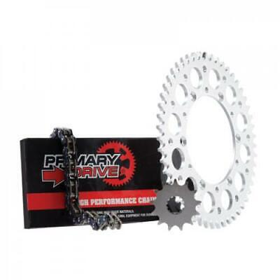 Primary Drive Alloy Kit & O-Ring Chain Silver Rear Sprocket PN1437620142
